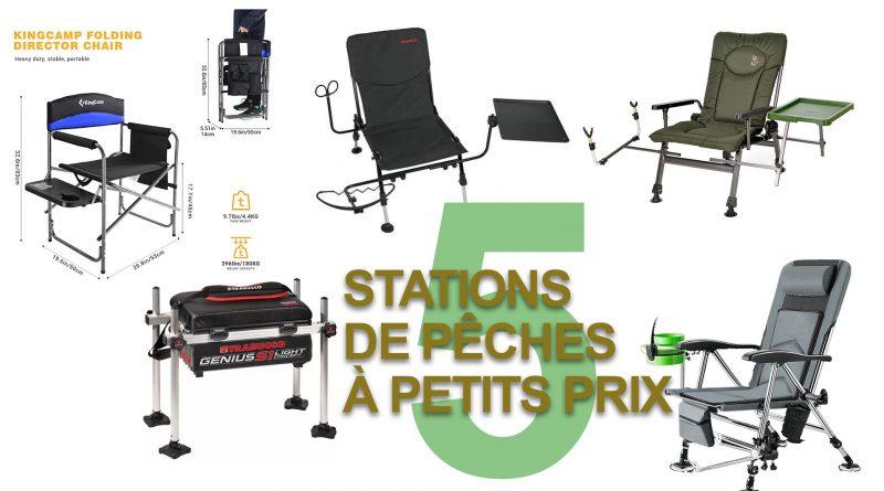 5 stations de peche a petits prix